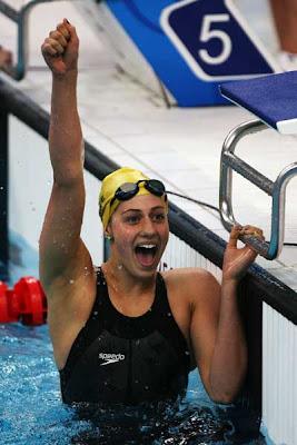 Beijing 2008 - Stephanie Rice, medalla de oro y récord mundial en 400 metros estilos