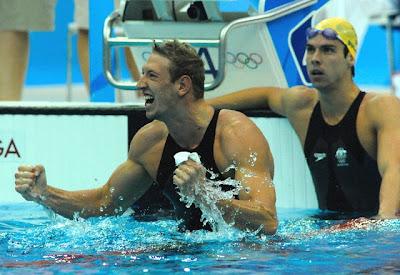 Alain Bernard, oro en los 100 metros libres