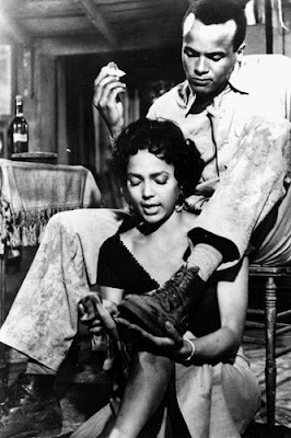 Dorothy Dandridge y Harry Belafonte en Carmen Jones (1954)