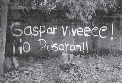 Gaspar Vive, No Pasarán