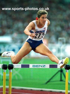 Sally Gunnell - Stuttgart 1993