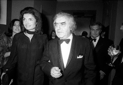 Cornell Capa y Jacqueline Kennedy (1975)