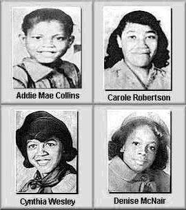 Las cuatro niñas de Birmingham