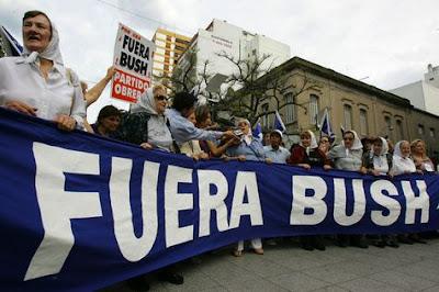 Mar del Plata, Anti-Bush