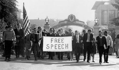 Free Speech Movement, Berkeley 1964