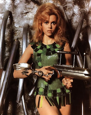 Jane Fonda, Barbarella (1968)