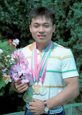 Los Angeles 1984 - Lou Yun, ganador de tres medallas