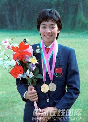 Los Angeles 1984 - Ma Yanhong, ganadora de dos medallas