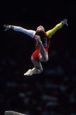 Atlanta 1996 - Mo Huilan, la mejor gimnasta china