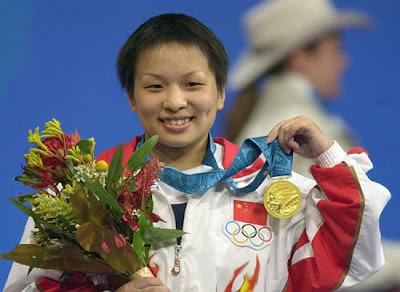 Sydney 2000 - Yang Xia, campeona en halterofilia (-53 kg)