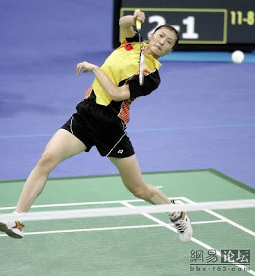 Atenas 2004 - Zhang Ning, campeona individual de badminton