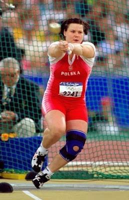 Kamila Skolimowska en los Juegos de Sydney 2000