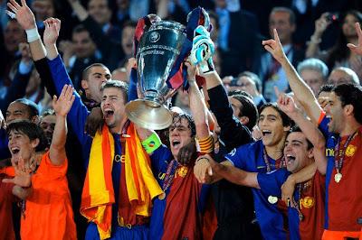El FC Barcelona ganador de la Liga de Campeones 2009