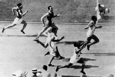 Los Angeles 1932 - Eddie Tolan y Ralph Metcalfe