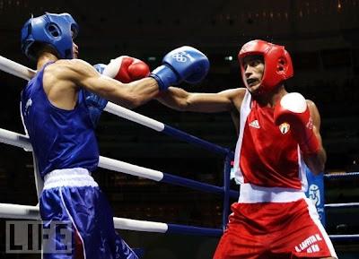 Andry Laffita, plata en boxeo