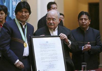 Evo Morales nombrado Héroe Mundial de la Madre Tierra