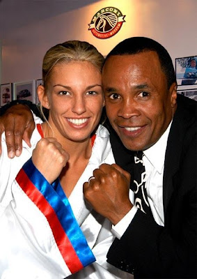 Shelby Walker y Ray Sugar Leonard