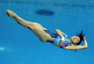 Guo Jingjing - Saltos de trampolín
