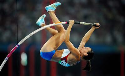 Yelena Isinbayeva - Salto con pértiga