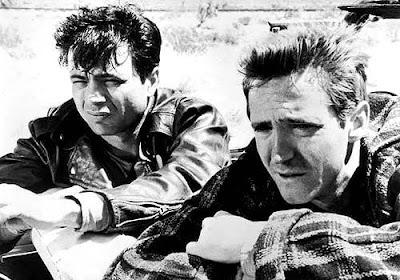 Robert Blake y Scott Wilson en A sangre fría (1967)