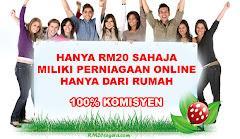 Jana Pendapatan Segera Hanya Dengan RM20.00 Sahaja..
