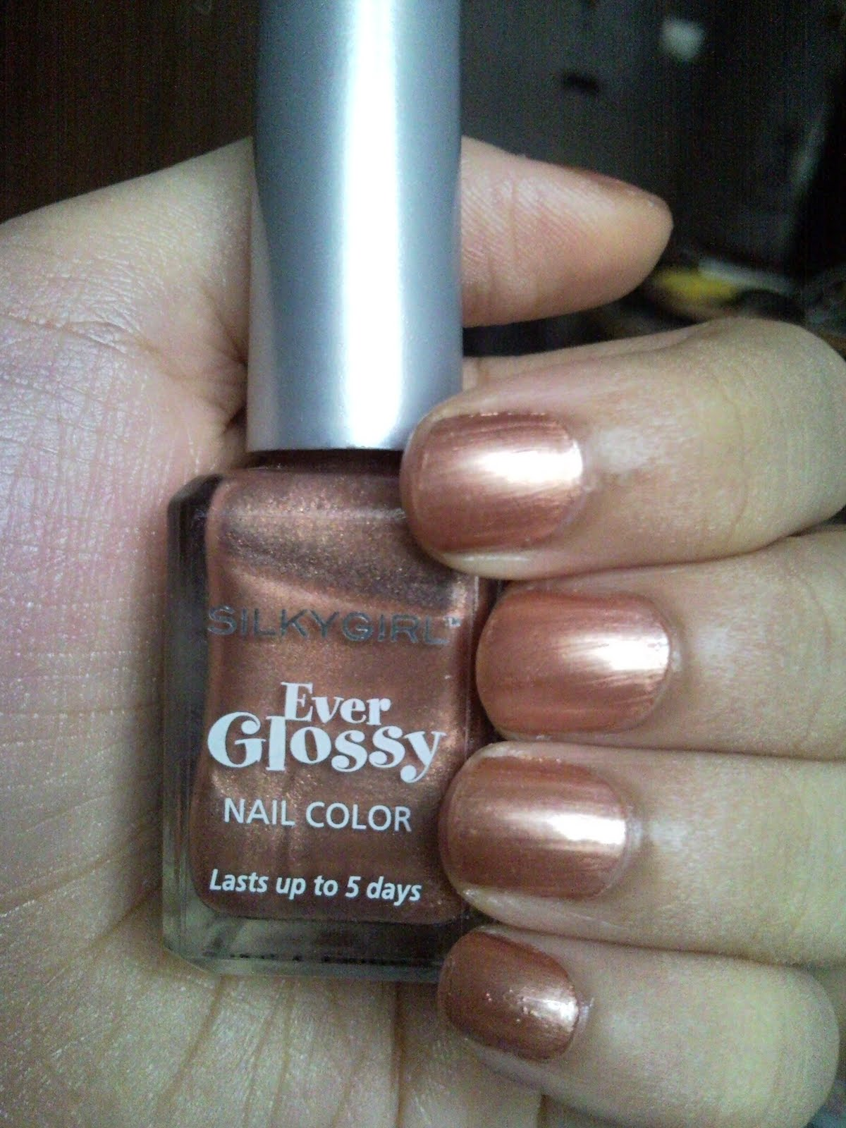 Silkygirl Roundup Part 1: Ever Glossy Nail Colour in Copper ...