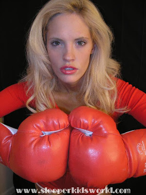 Gorgeous Boxing woman