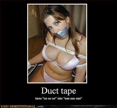 Gay Hustler Duct Tape