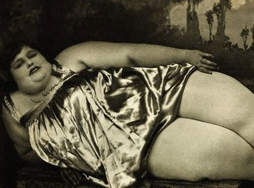 história da mulher gorda