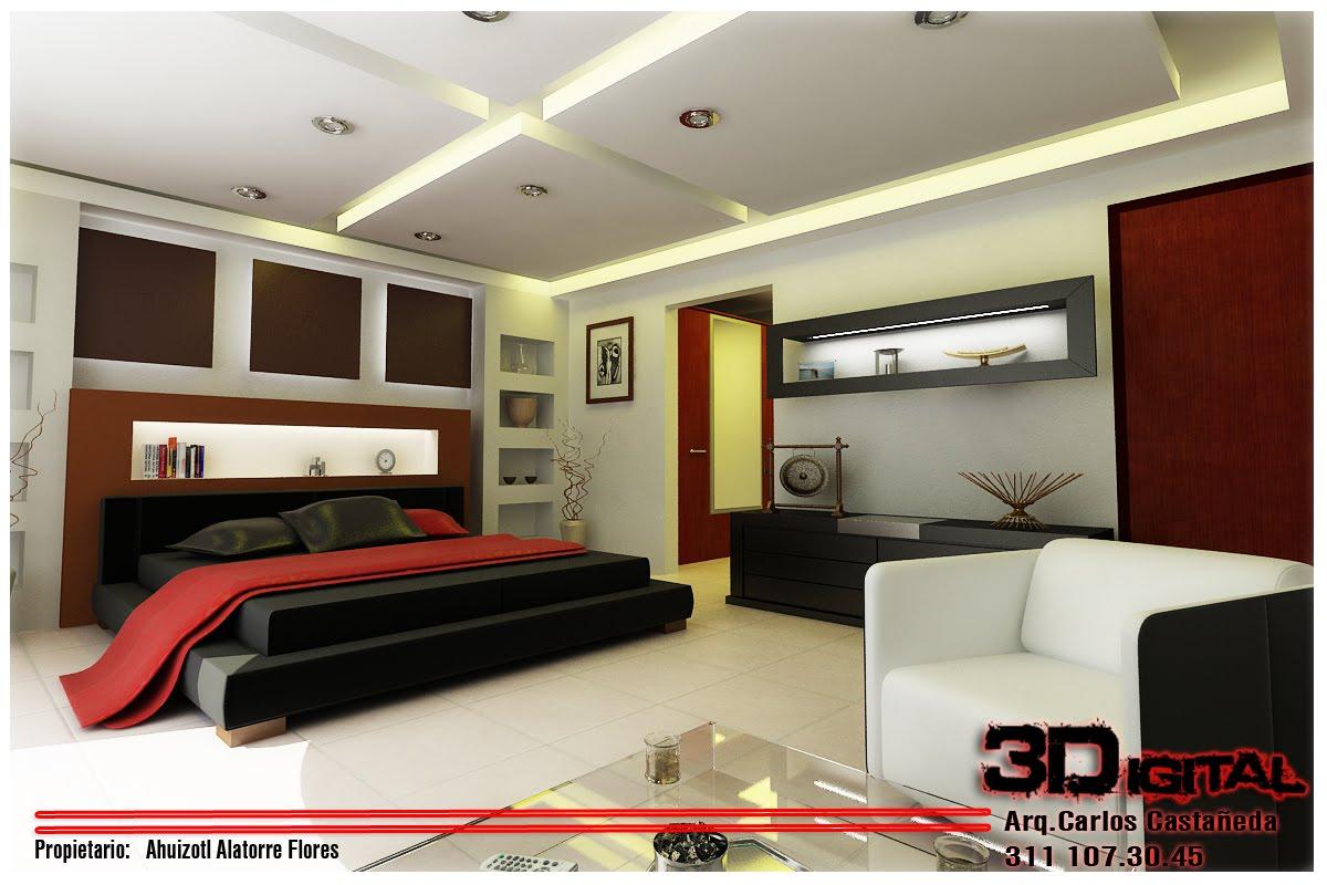 Proyectos arquitectonicos y dise o 3 d 08 24 10 for Disenos de interiores en tablaroca