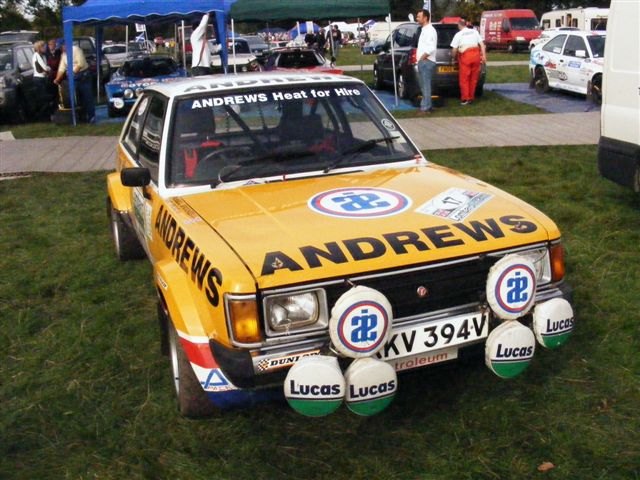 Russell Brookes's Sunbeam Lotus