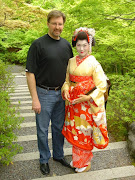 Doug with Makiho in Japan