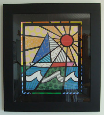 romero britto art. This print by Romero,