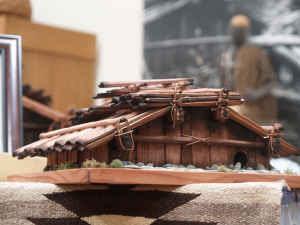 yurok plank house model