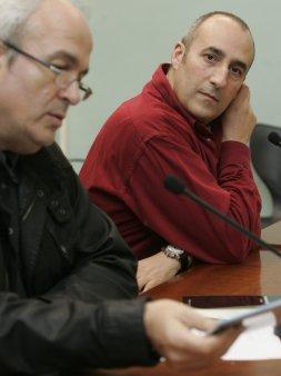 """Presentación de """"Los círculos concéntricos"""", Gijón, diciembre 2008"""