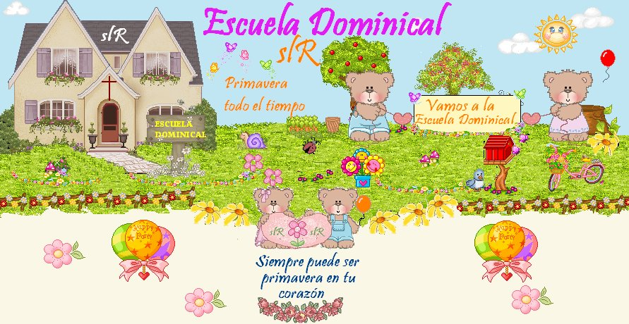 ESCUELA DOMINICAL slR
