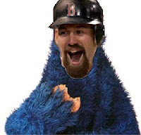 Kevin Youkilis Cookie Monster