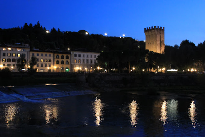 Arno River, Firenze, Italia