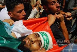 senyuman syuhada Gaza