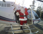 Santa Helicopter Event
