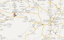 Ciudades cercanas a Morelia incluyendo Ciudad Mexico