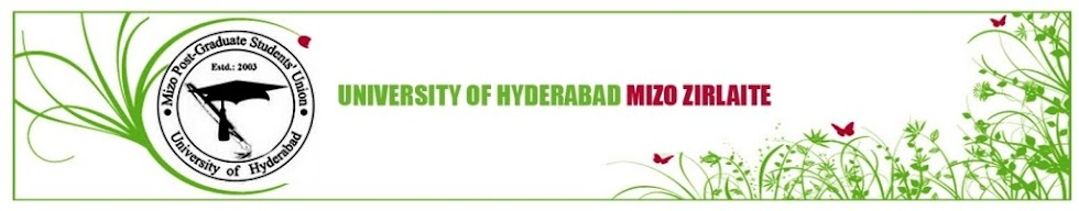 University of Hyderabad Mizo Zirlaite Chawlhbuk
