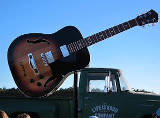 Life is Good Festival 2010 Giant Guitar