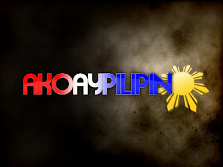 ako ay pilipino Pilipino ako pilipino ako-- may hininga ng dagat, may buhok ng gubat, may balat na hinurno ng araw, may tinging pinali ng ulan tinukso ng mga bituing natanaw.