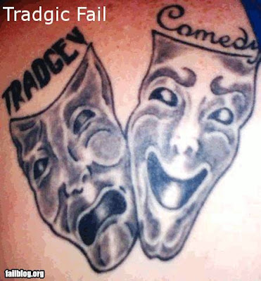 Misspelled Tattoos, Courtesy Of Fail Blog and Ugliest Tattoos