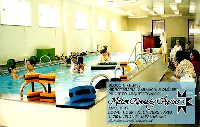 Fisioterapia Piscina Hospital Alzira Velano Unifenas - Milton Kennedy