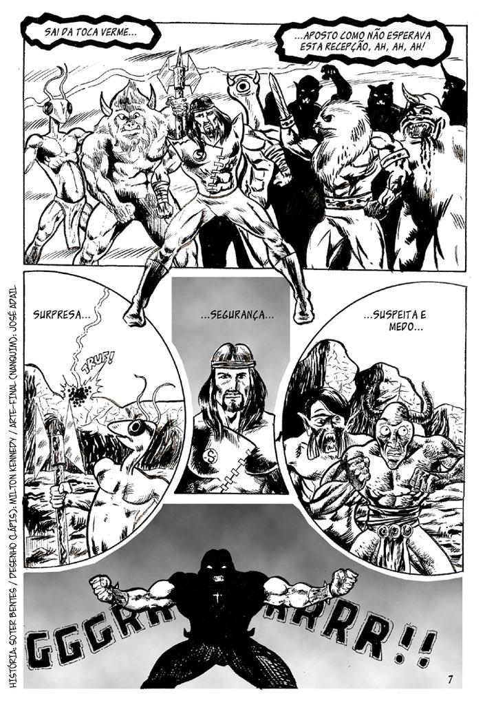 Comics história em quadrinhos
