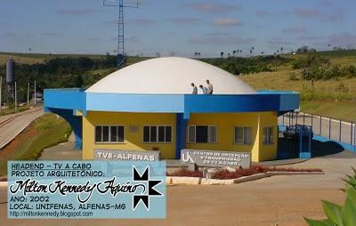 Headend TV a Cabo Unifenas, projeto Milton Kennedy