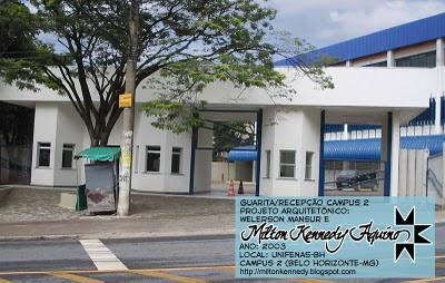 Unifenas BH Campus 2 projeto Milton Kennedy