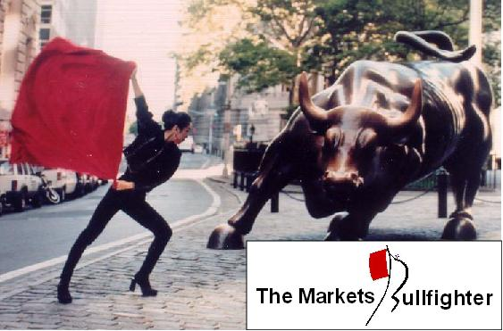 The markets bullfighter